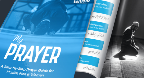 Learn how to pray, make salah in simple easy steps. Learn how to make wudu and pray in multiple languages with the My Prayer Book