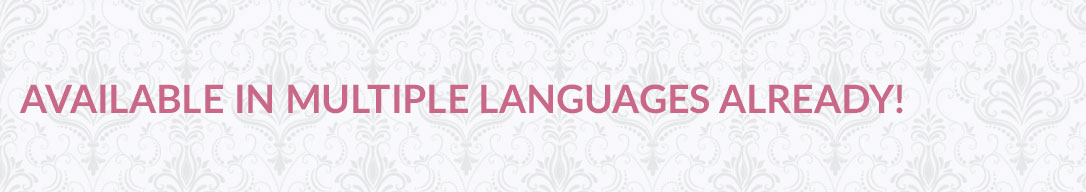 An image with the text, Available in multiple languages already
