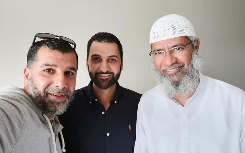 Tenfold CEO Mohammad Quadan and Director Bassem Saddik visit Doctor Zakir Naik at his home in Malaysia to discuss the Dawah projects they are running across the globe