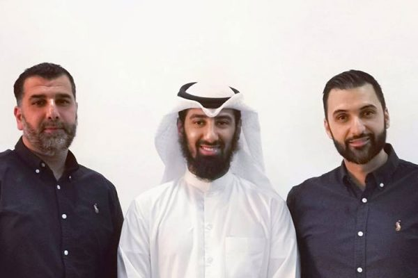 Tenfold directors Mohammad and Bassem meet with directors of EDC in Kuwait to discuss a partnership in Da'wah activities